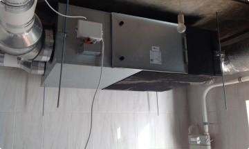 Монтаж приточно-вытяжной вентиляции с рекуперацией