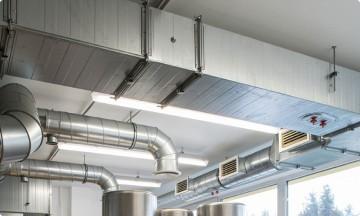 Монтаж системы вентиляции </br>в коммерческом помещении