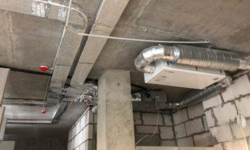Монтаж приточной вентиляции </br>в квартире